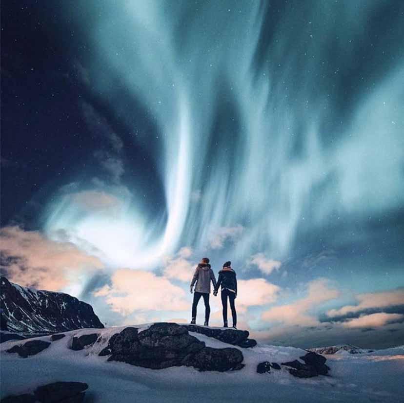 Alla caccia dell'aurora boreale